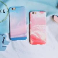 Cloudy case ip iphone 5 5S SE 6 6+ 6S 6S plus + 7 7+ 8 8+ cute pastel