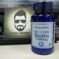 BIOTIN 7500 mcg 100 tablet