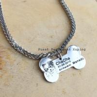 Kalung nama hewan peliharaan anjing / kucing #2