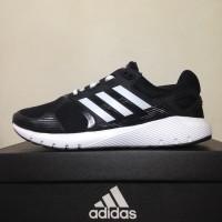 Sepatu Running/Lari Adidas Duramo 8 M Black White BA8078