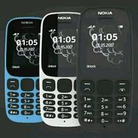 Nokia 105 New Dual Sim - Hitam