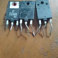 Transistor horizontal cabutan