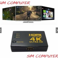 HDMI Switch 3 Port Support 4K Full HD