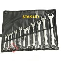STANLEY 11 Pcs Kunci Ring Pas Set 11 Pcs 8 - 24 mm bkn tekiro