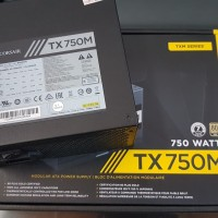 Corsair TX 750M / TX750M / TX 750 M 750 Watt 80 Plus Gold PSU