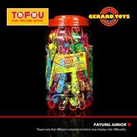 Permen Payung Junior Chocolate Toples isi 60pcs