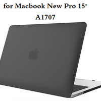 Casing Macbook New Pro 15 Inch A1707 Hard Case free keyboard protector