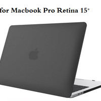 Casing Macbook Pro Retina 15 Inch Hard Case free keyboard protector