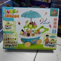 Mainan anak ice cream troly