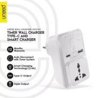 Smart Travel Charger & Fast Charging 2A with Timer Uneed UCH109