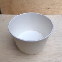 Paper Bowl 800ml (27oz) / Mangkok Kertas 800ml TANPA TUTUP - per25pcs