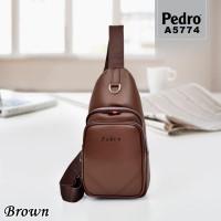 Bodybag Pedro A5774 (Les) - Tas Fashion Pria Bag Cowok Murah