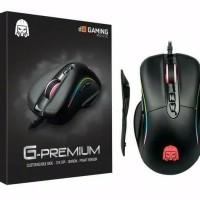 Mouse Gaming Digital Alliance G Premium Black RGB - DA Premium Modular
