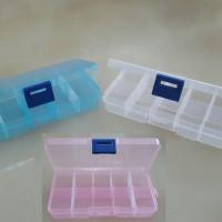 KOTAK BOX PLASTIK MINI SEKAT 10 UTK OBAT/JARUM/PENITI/MOTEK/AKSESORIS