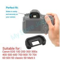 Karet EB Eyecup Canon EOS 20D 30D 40D 50D 60D 70D 80D 7D 5D 6D Mark II