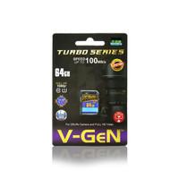 SDXC V-GeN 64GB Class 10 Turbo memory sd card camera kamera vgen