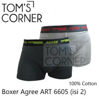 [isi 2] Boxer Agree   Celana boxer pria  No Gtman rider crocodile 6605 - M