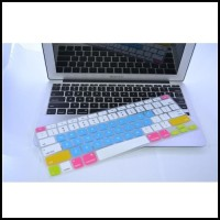 Candy Color Silicone Keyboard Cover Protector Skin for Macbook Pro 1