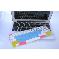 Candy Color Silicone Keyboard Cover Protector Skin for Macbook Air 1
