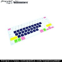 Candy Color Silicone Keyboard Cover Protector Skin for Macbook SS