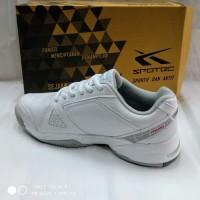 sepatu olahraga tenis spotec Dexter white