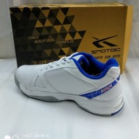 sepatu olahraga tenis spotec Dexter white nevi