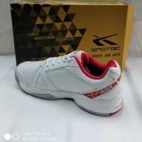 sepatu olahraga tenis spotec Dexter white red