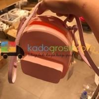 Tas Wanita Miniso \U002F Jelly Bag - Merah Muda