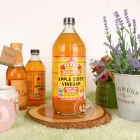 Food BRAGG Apple Cider Vinegar (ACV) Cuka Apel 946 ml Original