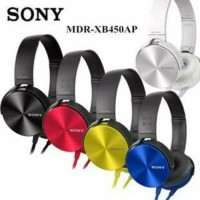 Headphone Headset Sony EXTRA BASS MDR-XB450AP + mic