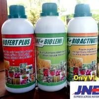 PAKET 3ps Pupuk Cair Organik Pertanian Untuk Memperbanyak Anakan Padi