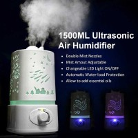PROMO High Capacity Aroma Therapy Air Humidifier 7 Color 1500ml