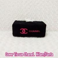 Tisu kotak Chanel Hitam Logo Fanta