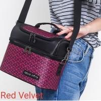 Cooler Bag Natural Moms Thermal Bag Sling Red Velvet Tas Pendingin Asi