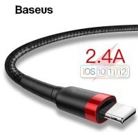 Kabel Data 88 - BASEUS Usb Charger Kabel Data untuk iPhone X 8 7 6 S P