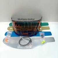 paket lengkap visor flat kyt rc7 kyt r10 kyt k2rider