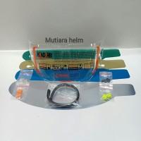 paket lengkap visor flat kyt rc7 kyt r10 kytk2rider
