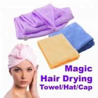 Hair Wrap Magic Towel/Handuk Rambut/Handuk Keramas/Handuk Kepala/Handu