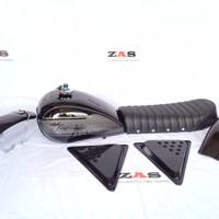 Bodyset motor Japstyle Paket Hemat Hitam Abu abu