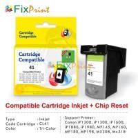 Cartridge Tinta Recycle Canon CL41 Color, Printer Canon iP1200