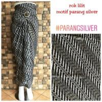 Rok Lilit Batik Kebaya motif Parang Silver
