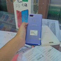 Oppo F9 starry purple vooc flah charge