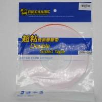 Double Tape Mechanic Red 2mm Original Lem Touchscreen 50 meter