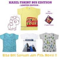 Kazel Tshirt BUS *LIMITED EDITION* 1 PCS
