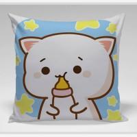 Bantal Sofa / Cushion - Cat Milk
