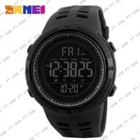 jam tangan pria sport skemei 1251 original anti air 50 meter full blac