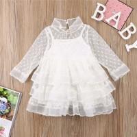 dress anak perempuan gaun pesta bayi import