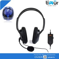 Gaming Headset Earphones Headphones Stereo Supper Bass for Sony PS4