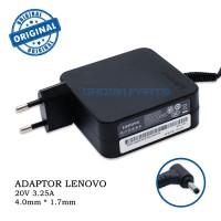 Adaptor Charger Laptop Lenovo Ideapad 20v 3.25A 100 100s 110 310 510