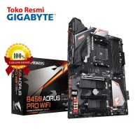 Gigabyte Motherboard ATX Socket AM4 4 x DDR4 - [B450 AORUS PRO WIFI]
